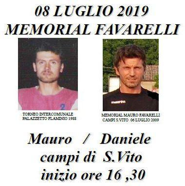 Memorial FAVARELLI 2019